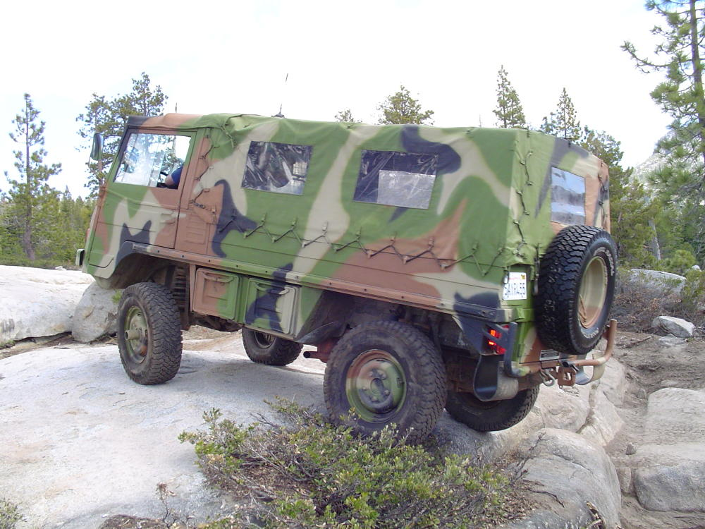 pinzgauer accessories